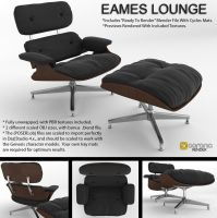 Eames Lounge by LuxXeon