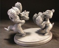 Chip n' Dale by sculptwerks