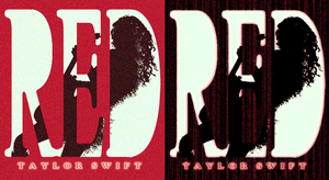 [TaylorSwift] RED-own cover for the new album!!! by PeonyAurora
