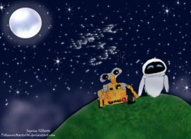 Wall-e + Eve by PokemonMaster04