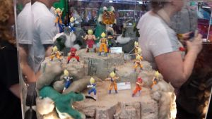 NYCC 2014 - Lots of DBZ Figures by DestinyDecade