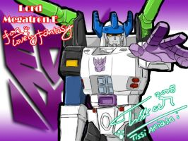 Megatron for LovelyFantasy by Tc-Chan