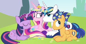 Flower Crown Day by dm29