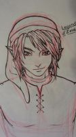 Link Lineart by simple-minded-saul