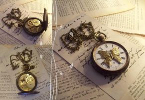 Steampunk Time Is Not Lost by hrekkjavakaastarkort