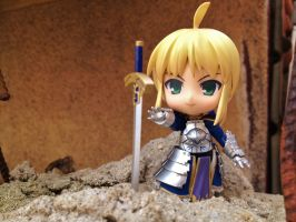 Just a little closer - Saber by Odessa-Himijo