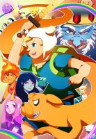 Adventure Time! by GDBee
