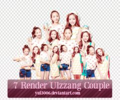 [PACKPNG] Render Ulzzang Couple by yul3006