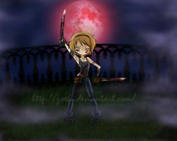 Blood in a moonlight night by Zoehi