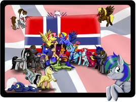 Bronies of Norway by Shadeila