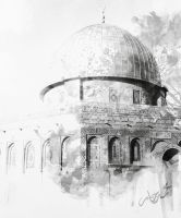 Dome of the Rock by Mido-san-mg