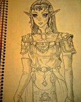 Princess Zelda by LindseyLovesLink