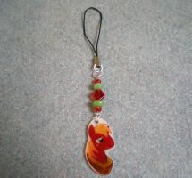 MLP Handmade Big Macintosh Cellphone Charm by AmyAnnie14
