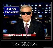 Tom BROkaw by Coleslayer