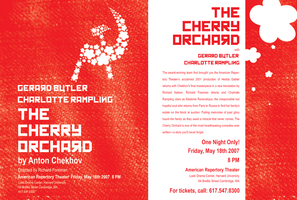 Flyer: The Cherry Orchard by solsticeviolet