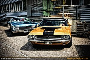 Challenger+Cadillac by AmericanMuscle
