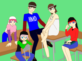 DA Family Pic by V1EWT1FUL