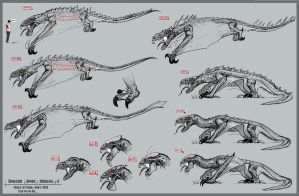 Dragon Roughs by MackSztaba