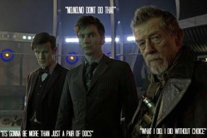The three Docs - 50th anniversary EDIT. by Laurenthebumblebee