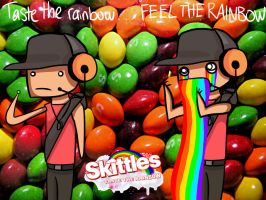 TF2: EXPERIENCE THE RAINBOW. by emikohayashi