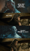 Bad Joke Azog by yourparodies