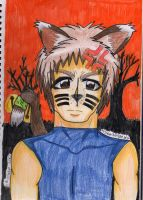 .:Happy Halloween / Neko  Kane:. by MissDarkAngel167