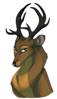 deer by pharao-girl