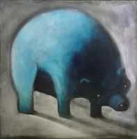 Blue Bear by SethFitts