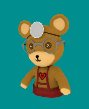 Medic Teddy Bear by Autonomous-Ink