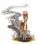Fire Fawn by DayOfNone