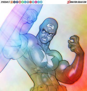 Captain America by sykosan