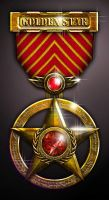 Golden Star Medal by bledavik