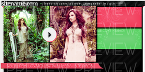 Demi Lovato Header by itsanne