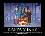 kappa mikey demovational poster by Syd112012