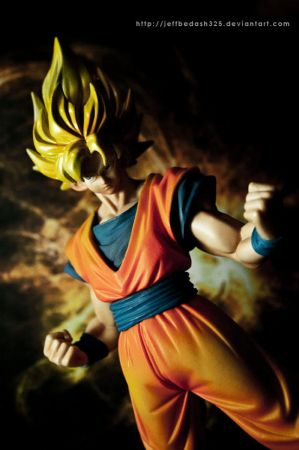 Son Goku (Super Saiyan)[2] Yamato Dragon Ball Z Battle Masterpiece Kai