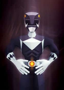 Black Ranger by InkTheory