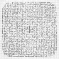 Maze experiment 1of2: pattern by 0o0kiwi0o0