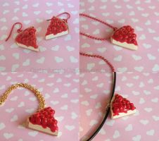 Cheesecake Jewelry by CantankerousCupcake