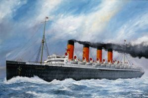 Mauretania painting by Kipfox32