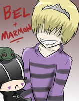 KHR: Bel and Marmon by BladeXD