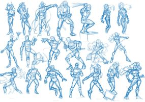 Poses and Dyanamics 2 by wburton19