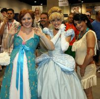 ComicCon 09 Princesses and me by TimBakerFX