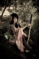 Momohime - Aged Photo by BertLePhoto