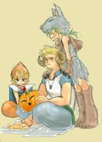 FF6 pumpking carving by nekki