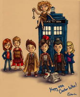 DW Chibis by Silverlin