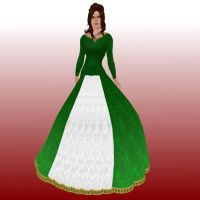 Medieval Dress by SweetAmorito