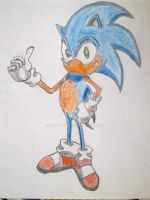 Sonic X by UsayFudo