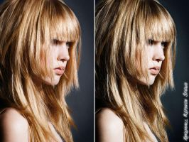 Stylizing Retouch Before and After by Krisu00r34