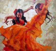 IN THE RHYTHM FLAMENCO 4 by renatadomagalska