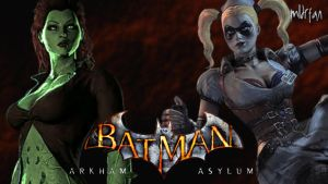 Arkham Asylum Girls by mldrfan